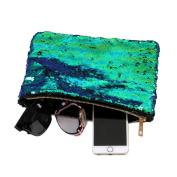 Purse, Fcostume Women Double Colour Sequins Wallet Card Holder Wallet