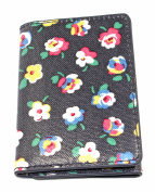 Cath Kidston Trifold Ticket Holder Cotton Ditsy Wallet Card Oyster Bus Train NEW