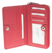 Full Grain Purses & Wallet : Made by Golunski : Red with Red Interior