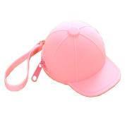 Beatsport Candy Coloured Hat Coin Purse Silicone Wallet Zipper Purses Creative key bag