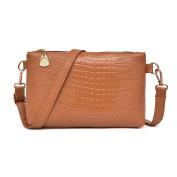 LILYYONG Women Handbag Crocodile Pattern Shoulder Bag Small Tote Ladies Purse