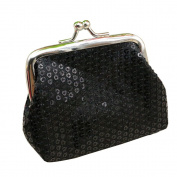 Women Sequins Coin Purse Bling-Bling Clutch Glittery Handy Buckle Mini Wallet