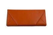 Ladies Womens Envelope Shape Faux Leather Purse Wallet 14 Colours