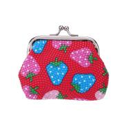 Domybest Women PU Purse Bag Cute Waterproof Small Handbag Key Coin Holder