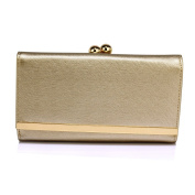 Women's Fashion Designer Ladies Quality Faux Leather Purses Wallet Coin Clutch Bags