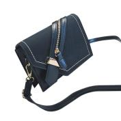 Xshuai Fashion Women Girls Ladies Zipper Purse Bag Leather Handbag Chic Cross Body Shoulder Messenger Bag