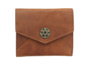 Mala Leather TUDOR Collection Leather Purse With RFID Protection 3419_88 Tan