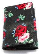 Cath Kidston Trifold Ticket Holder Cranbrook Rose Wallet Card Oyster Bus Train