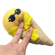 Soft Toys Gift, MML Emoji Ice Cream Squishy Scented Squishy Slow Rising Squeeze Toy Jumbo Collection