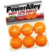 Heater Sports Baseballs Lite - Power Alley 40 MPH - Pack Of 6