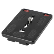 Gran Voo TY-70 II with Aluminium Alloy Quick Release Plate for DSLR Camera, Compatible with Arca-Swiss Standard