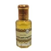 Amber Attar Perfume (10 ml) - Pure Natural Undiluted (Non-Alcoholic) , By Kazima
