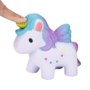 Unicorn Squishy Toy,Luoluoluo Lovely Dreamlike Scented Squishy Slow Rising Squeeze Toys Collection Childrens Stress Relief Toys