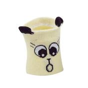 Pu Ran Cute Animal Non Skid Baby Toddler Anti Slip Eye Print Ankle Socks Warm Gift