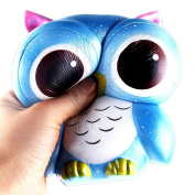 Soft Toy Gift, MML 15cm Lovely Owl Cream Scented Squishy Slow Rising Squeeze Toys Collection