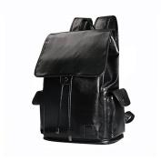 Meoaeo Men'S Leisure Business Package Double Shoulder Bag Fashion Computer Bag,Black,33cm