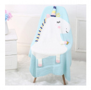 Ularma Baby Kids Cute Unicorn Knitting Blanket Bedding Quilt Play Blanket