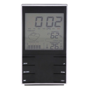 Demiawaking Electronic Temperature Hygrometer Digital Humidity Metre Weather Tester