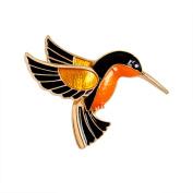 Cosanter Brooches Fashion Personality Glaze Birdie Brooch Pin