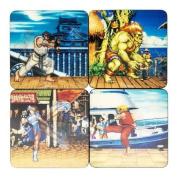 Street Fighter - Lenticular Coaster Set