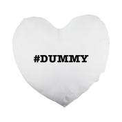nicknames DUMMY nickname Hashtag Heart Shaped Pillow Cover
