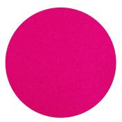 Coasters Glass Set of 6 Glass Coasters Diameter 10 CM Round pink colour 100% Merino wool felt, 3 MM