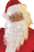 White Wizard Santa Wig + Beard Christmas Fancy Dress Costume Accesories