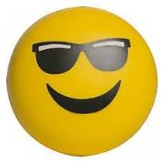 Splat Balls Squishy Squeeze Sticky Stress Relief Mesh EMOJI SUNGLASSES