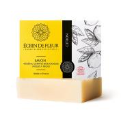 Ecrin De Fleur Certified Organic Lemon Soap – Zesty Lemon Oil Soap for Citrus Soap Lovers - The Non Toxic, SLS & Chemical Free Soap Bar That Softens The Skin And Awaken the Senses