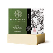 Ecrin De Fleur Certified Organic Laurel Soap – Antibacterial Olive Oil and Laurel Oil Soap - The Non Toxic, SLS & Chemical Free Soap Bar That Softens The Skin And Heals the Senses