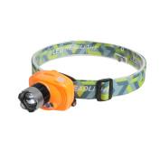 Battery Powered LED Headlamp Zoom Infrared Sensor Head Light Biking Camping lamp