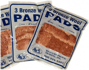 New Bronze Wool Pads western Pacific Trading 35010 Grade Coarse