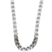 Stainless Steel Men's Venetian Link Necklace