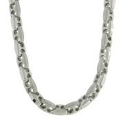 Stainless Steel 9mm Mariner Link Necklace