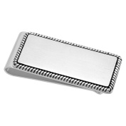 Steel Nation Jewellery Men's Stainless Steel Rope Outlined Money Clip - Mens