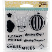 Jillibean Soup Clear Stamps 10cm x 10cm -Fly Away