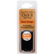 Ken Oliver Click It Dye Ink Pad-Burnt Orange