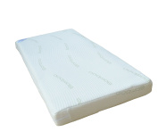 KATY® Quilted Bamboo Covered Anti Allergy Pocket Sprung Cot Mattress 120 x 60 x 10cm Thick. Will Fit Mamas & Papas Cots 200 Size As Well As Other Makes : British Made