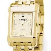 Georgia Men's Gold Quad with Bracelet