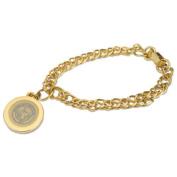 Alabama Gold Charm Bracelet
