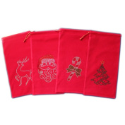 Sparkles Home Holiday Wine Bag