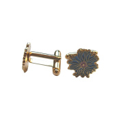 Masonic Cufflinks – Cornflower