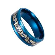 Yiwa Retro Chinese Dragon Ring Ornament Cool Christmas Birthday Festival Gift