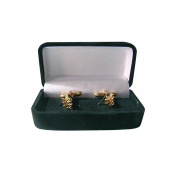 Masonic Cuff Link With Gift Box – Acacia Branch, Large