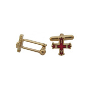 Red Cross of Constantine Masonic Cufflinks –