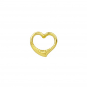 Gold Heart 333 Gold Heart Pendant Gold Necklace Cut Yellow Gold 3720