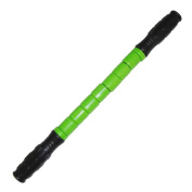 Sharplace Full Body Myofascial Soreness Release Trigger Points Muscle Roller Sport Massage stick - Green, as described