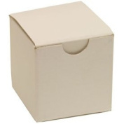 2x2x2 White Open Lid Gift Boxes - Sold individually