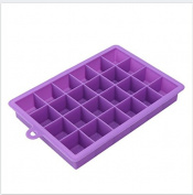 Nikgic 1PC 24 Grid Ice Cube Silica Gel Mould Creative Frozen Mould
