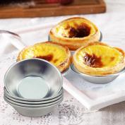 Baokee* 5PCS Egg Tart Aluminium Cupcake Cake Cookie Lined Mould Mould Tin Baking Tool Hot